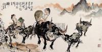 牧童 镜心 设色纸本 - 周沧米 - 中国书画 - 2006新年拍卖会 -收藏网