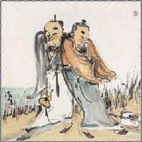 王晓辉 人物 镜心 - 王晓辉 - 中国书画 - 2007年秋季艺术品拍卖会 -收藏网