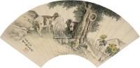 三羊开泰 镜心 设色纸本 - 119254 - 名家砚台印章、闽籍书画及中国书画 - 2009秋季艺术品拍卖会 -收藏网