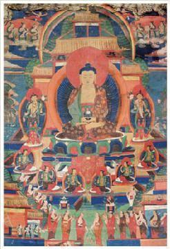 阿弥佗佛唐卡 -  - 佛像唐卡 - 2007春季艺术品拍卖会 -收藏网