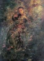 1999年作 晚风 -  - 油画 水彩画 - 2007年春季艺术品拍卖会 -收藏网