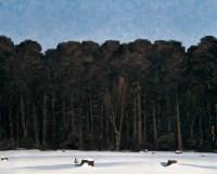 边缘 布面 油画 - 李秀实 - 中国现当代艺术 - 2007迎春拍卖会 -收藏网