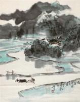 蜀山春早 立轴 纸本 - 132177 - 中国书画 - 2011秋季拍卖会 -收藏网