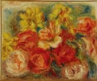 蔷薇图 油彩 画布 装框 -  - 当代美术 西洋美术 - 2011秋季伊斯特香港拍卖会 -收藏网