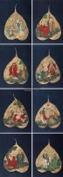十八罗汉 册页 绢本 - 丁云鹏 - 中国书画(十) - 嘉德四季第二十六期拍卖会 -收藏网