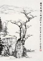 江中垂钓 镜片 水墨纸本 - 8623 - 近现代中国书画 - 2011秋季艺术品拍卖会 -收藏网