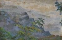 天坛春 木板 油彩 - 宋步云 - 中国油画及雕塑专场 - 2006年秋季拍卖会 -收藏网