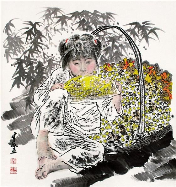 人物 轴 - 5448 - 中国书画 - 2011年首屇艺术品拍卖会 -中国收藏网