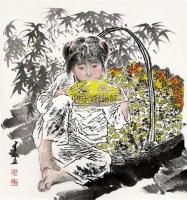 人物 轴 - 王有政 - 中国书画 - 2011年首屇艺术品拍卖会 -收藏网