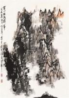 黄山群峰 镜片 纸本 - 21108 - 中国书画(一) - 2011年春季拍卖会 -收藏网