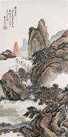 秋山萧寺 立轴 设色纸本 - 139913 - 中国书画(一) - 2006年秋季拍卖会 -收藏网