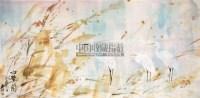 白鹭图 镜片 纸本 - 88535 - 中国书画(二) - 2011春季艺术品拍卖会(一) -收藏网