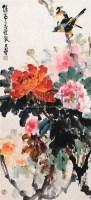 牡丹 立轴 设色纸本 - 140481 - 中国书画 - 2006新年拍卖会 -收藏网