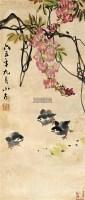 花鸟 立轴 设色纸本 - 17598 - 中国书画(一) - 2011秋季拍卖会 -中国收藏网