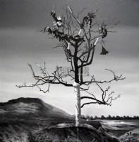 未来之树之二 布面油画 - 赵光臣 - 中国外来艺术 - 北京长风2007秋季拍卖会 -收藏网