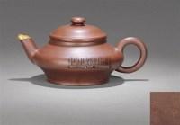 紫砂扁灯壶 -  - 紫玉天虹—古代紫砂臻品 - 嘉德四季第二十五期拍卖会 -收藏网
