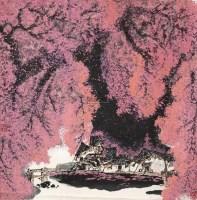 大别山之秋 立轴 设色纸本 - 125070 - 中国书画(一)当代专场 - 2011秋季艺术品拍卖会书画专场 -收藏网