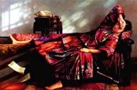 飘落的夏天 布面 油彩 - 高虹 - 中国油画及版画专场 - 2007年秋季拍卖会 -收藏网