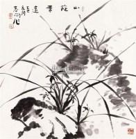 山葩香远 镜片 纸本 - 119597 - 中国书画(二) - 2011年春季拍卖会 -收藏网