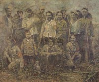 那时我们正年轻 布面油彩 - 王欣 - 中国油画及雕塑 - 2006年春季拍卖会 -收藏网