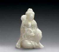 白玉观音 -  - 玉器 翡翠 - 2007春季拍卖会 -收藏网