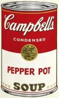 坎贝尔Ⅱ:胡椒罐 丝版印刷 装框 -  - 当代美术 西洋美术 - 2011秋季伊斯特香港拍卖会 -收藏网