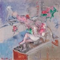 西湖清夏 布面 油彩 - 任小林 - 中国油画(一)当代专场 - 2007春季大型艺术品拍卖会 -收藏网