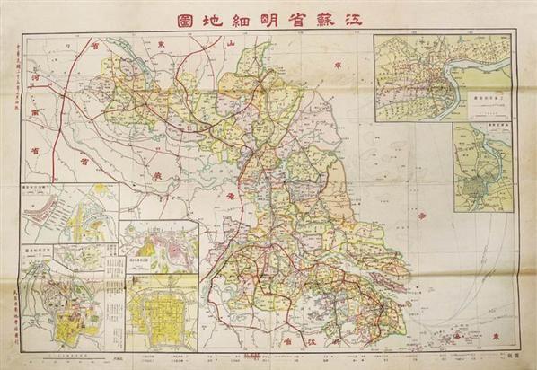 江苏地�_江苏,安徽地图