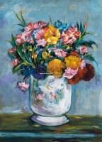 静物花卉 水粉 纸本 - 关紫兰 - 油画雕塑 - 2011春季拍卖会 -收藏网
