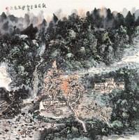 观荷图 立轴 设色纸本 - 141986 - 中国书画 - 2010年春季拍卖会 -中国收藏网