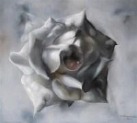玫瑰 布面 油画 - 罗发辉 - 中国当代艺术 - 2006秋季拍卖会 -收藏网