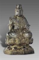 沉香木雕观音坐像 -  - 艺术珍玩 - 十周年庆典拍卖会 -收藏网