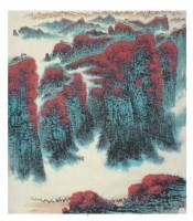錢松喦  古塞駝鈴 -  - 中国书画 - 2008春季艺术品 -中国收藏网