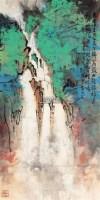 山水 立轴 纸本 - 116759 - 文物商店友情提供 - 庆二周年秋季拍卖会 -收藏网
