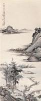 金城 已未(1919年)作 临盛子昭渔乐图 立轴 - 金城 - 近现代绘画专场二 - 2007年秋季拍卖会 -收藏网