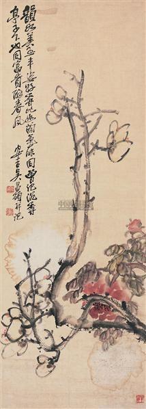 玉堂富贵 立轴 设色纸本 - 116056 - 中国书画(一) - 2006年秋季拍卖会 -收藏网