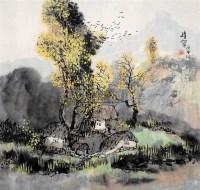 山水 设色纸本 - 王维宝 - 中国书画 - 2008年春季拍卖会 -收藏网