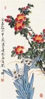 花卉图 立轴 设色纸本 - 许继善 - 中国书画艺术品专场 - 2011年秋季艺术品拍卖会 -收藏网