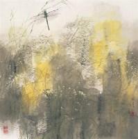 盛夏 镜心 设色纸本 - 王明明 - 中国当代水墨 - 2006秋季拍卖会 -收藏网