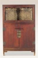 黄花梨亮隔柜 -  - 中国古典家具及古董珍玩 - 2011年春季艺术品拍卖会 -中国收藏网