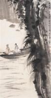 对酒图 立轴 设色纸本 - 116002 - 中国书画专场 - 2007年精品预展 -收藏网