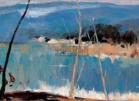 风景 布面 油画 - 苏天赐 - 中国油画 水彩 版画 - 2007夏季艺术品拍卖会 -中国收藏网