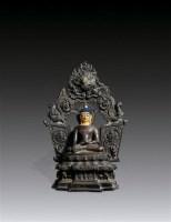 释迦牟尼佛像 -  - 妙法修心(一)——佛像专场 - 2011年秋季艺术品拍卖会 -收藏网