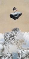 七月的雪 布面 丙烯 - 高惠君 - 中国油画雕塑 - 2006秋季艺术品拍卖会 -收藏网