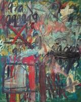 王易罡 9号 布面 油画 - 154482 - 油画 - 2006年金秋珍品拍卖会 -收藏网