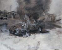 燃烧的汽车 - 29738 - 油画 水彩画 - 2007年春季艺术品拍卖会 -收藏网