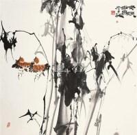 春风 镜片 设色纸本 - 骆孝敏 - 中国书画 - 2011年四季书画拍卖会 -收藏网
