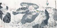 花鸟 镜片 设色纸本 - 130907 - 艺海撷珍—书画艺术品专场 - 2011年秋季拍卖会 -中国收藏网