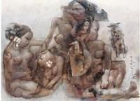 石虎 淑风 - 88994 - 油画 水彩画 - 2007年春季艺术品拍卖会 -收藏网