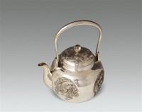 银制团龙凤纹执壶 -  - 古董珍玩 - 2012艺术品拍卖会 -收藏网